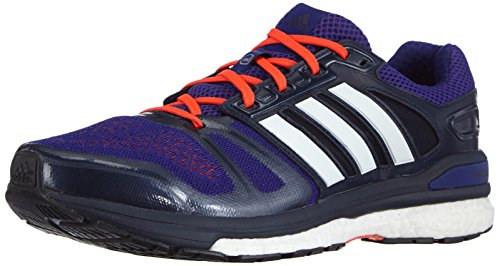 adidas Performance - Supernova Sequence Boost, Scarpe da Corsa da Uomo Blu (Amazon Purple F14/Ftwr White/Collegiate Navy)