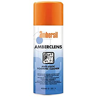 31592-AA AMBERSIL AMBERCLENS AEROSOL ANTI-STATIC FOAMING CLEANER 400ML AEROSOL