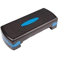Ultrasport Step de aeróbic/step / stepper de aeróbic, altura regulable, azul
