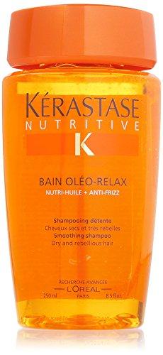 Kerastase Nutritive Shampooing détente Bain Oléo-Relax pour cheveux secs et très rebelles 250 ml