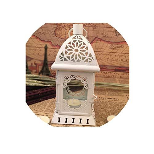 Carl Hamilton Retro Kerzenhalter Hohleisen Glas Kerzenständer Halterung Kerzenhalter Home Room Decor Crafts Kerzenzubehör Weiss