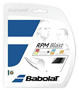 Babolat Rpm Blast Black - Tennis String 1.30mm/16G - 12m Review 2018 from Babolat