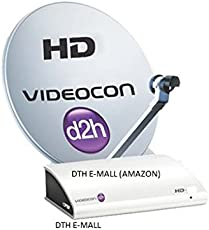 Videocon D2H HD Digital Set Top Box with 1 Month Gold Maxi HD FREE