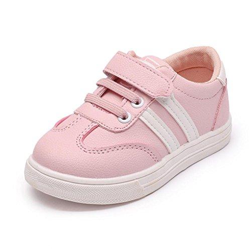 ZODOF Niño pequeño Bebés Bebés Niñas Cuna Empalme Suela Blanda Zapatos Antideslizantes Zapatillas...
