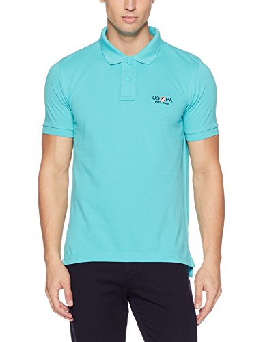 U.S. Polo Assn. Men's Solid Regular Fit Cotton Polo