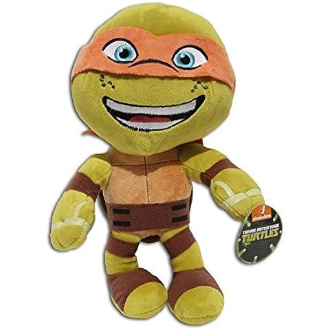 Michelangelo 30cm Super Soft Peluche Maschera Arancione Ninja TMNT Adolescenti Tartarughe Mutanti Ninja Collezione
