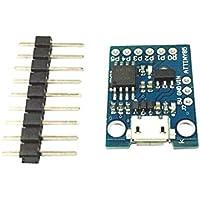 Homyl Mini Bleu Attiny85 Micro Arduino Usb Module De Développement De Machine Simple