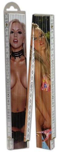 You2Toys 770113 Zollstock 2m 2-Seiten blond, 1 Stück