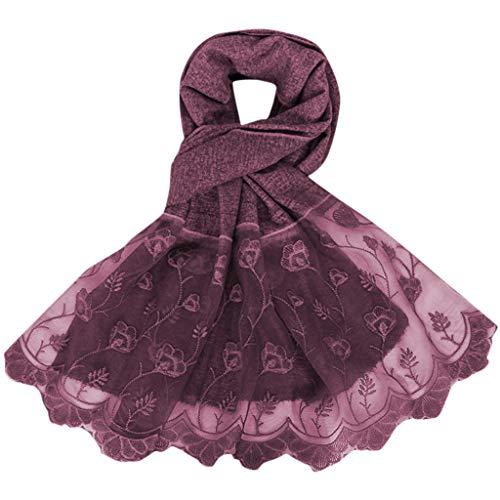 Lazzboy Frauen Abaya Islamischen Muslimischen Nahen Osten Hijab Patchwork Schal Kopfbedeckungen Moslemisches Weiches Sofortiger Bequemer Schal-hauptabnut Zungs-turban Stirnband(F)