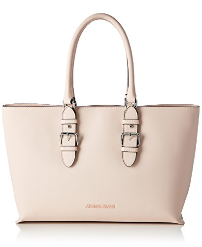 Armani Jeans Damen 9222107p772 Shopper, 10x27x38 cm Pink (NEW LIGHT PINK 08070)