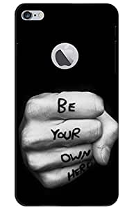 iessential motivation Designer Printed Back Case Cover for iPhone 6