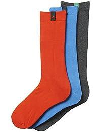 Adidas performance thin fin logo crew lot de 3 paires de chaussettes Multicolore Blau/Grau/Rot