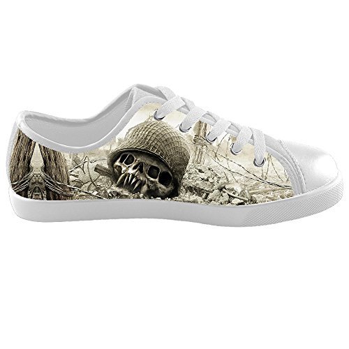 Dalliy Cool Skull Kids Canvas shoes Schuhe Footwear Sneakers shoes Schuhe B