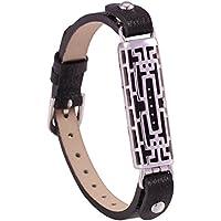 Fitbit Flex 2Zubehör-Bänder, TopTen Leder Ersatz-Riemen Armband Armreif für Fitbit Flex 2Fitness Activity Tracker