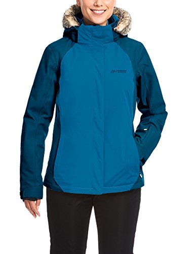 Maier Sports Damen Out2Snow W Skijacke, Mykonos Blue, 38