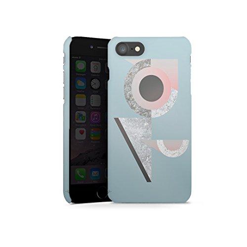 artboxONE Silicon-Case - Handyhülle iPhone 7 FOLGE DEM KANINCHEN - Film Tiere - Smartphone Case mit Kunstdruck hochwertiges Handycover kreatives Design Cover aus hartem Kunststoff von FabFunky Bau 2