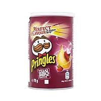 رقائق البطاطس المقرمشة بنكهة الشواء من برينجلز - 70 غرام