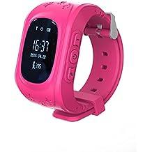 Los niños de Inteligencia de reloj teléfono GPS de posicionamiento Reloj Teléfono Móvil Pantalla Táctil Teléfono