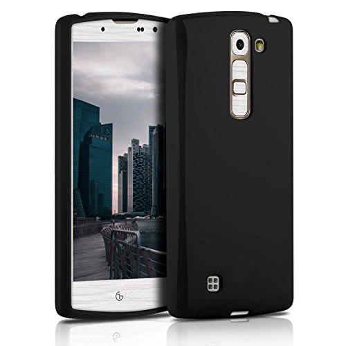 Silverback Hülle Für LG G4C - Handyhülle Aus Silikon - Kratzfeste Und Stoßfeste Schutzhülle - TPU Handy Case Bumper Backcover - Jelly Schwarz