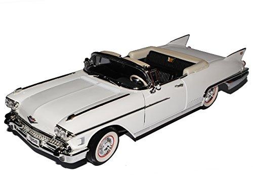 Cadillac Eldorado Biarritz 1958 Cabrio Weiss Oldtimer 1/18 Yatming Modellauto Modell Auto