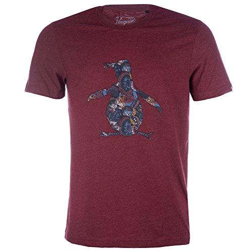 original-penguin-camiseta-para-hombre-rojo-rosso-small