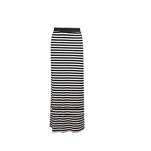 Unknown - Jupe -  Femme Multicolore - Thin Stripe