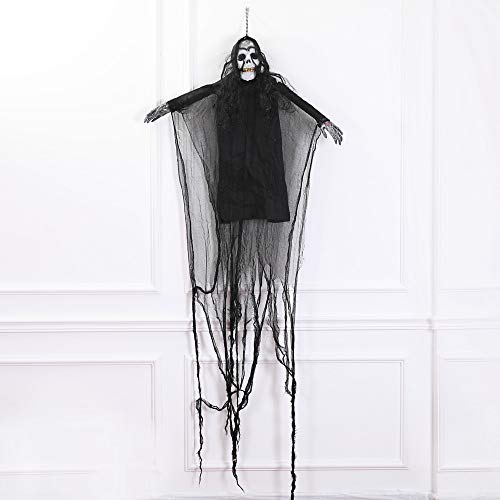 Mitlfuny Halloween coustems Kürbis Hexe Cosplay Gast Ghost Schicke Party Halloween deko,Gruselige beängstigende Skeleton - Beängstigende Kürbis Kostüm
