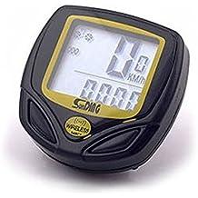 Longra♣♣Cronómetro para Bicicleta Inalámbrico LCD para Inalámbrico a Prueba de Agua Cronómetro Despertador Automático