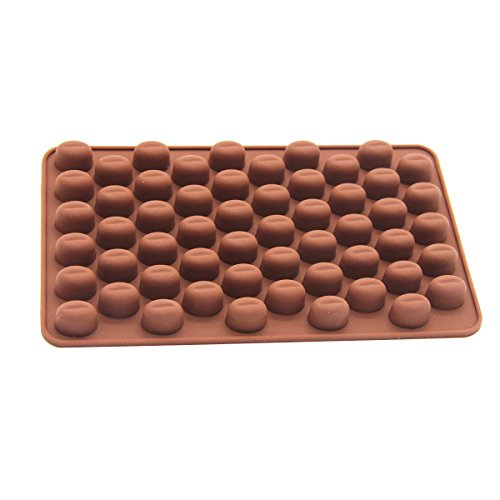 Cadillaps Schokolade Bohne Form Pudding DIY Mould Bonbons Pudding Tortendekoration Eisformer