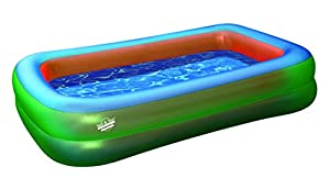 High Peak Pool Giant 300 Piscine gonflable Vert/bleu/orange