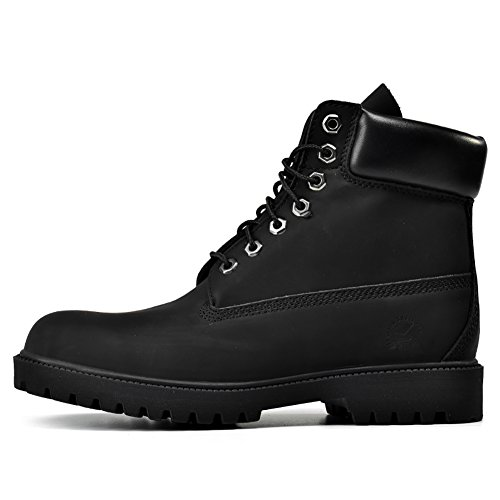 Insun Unisex Erwachsene Stiefel Derby Schnürhalbschuhe Kurzschaft Stiefel Winter Boots Schwarz