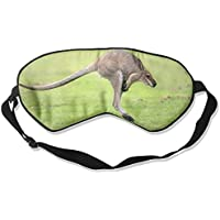 Eye Mask Eyeshade Kangaroo Jumping Sleep Mask Blindfold Eyepatch Adjustable Head Strap preisvergleich bei billige-tabletten.eu