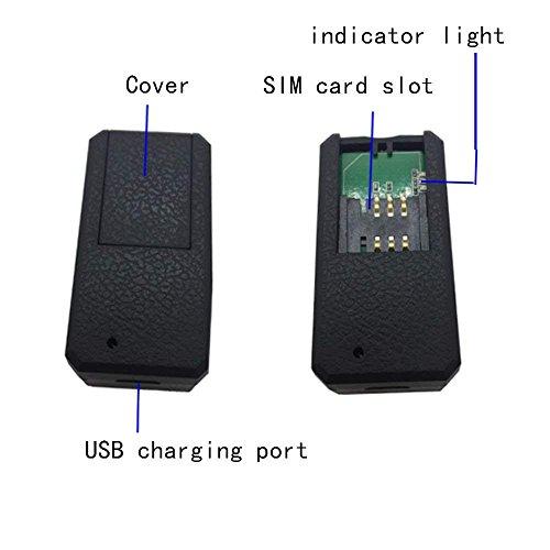 Mini GPS Tracker, TKSTAR GPS Tracker Schlüssel Sat Notebook Mini Key Finder Tracking in Echtzeit Locator Kostenlose App für Smartphones und PC Tablet tk901