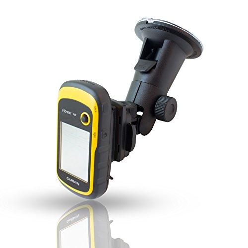Smart-Planet® hochwertige KFZ Halterung für Ihr Garmin GPS Gerät - Saugnapf für die Autoscheibe - virbrationsfrei - mit QuickFix - 360 Grad drehbar