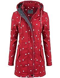 Outdoor mantel lang damen