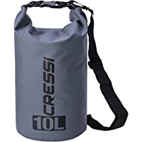Cressi Waterproof Dry Bag with Long Adjustable Shoulder Strap for Diving 767ea8ce7ef11