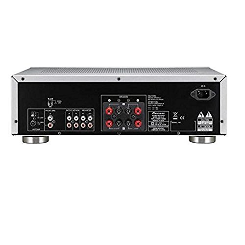 Pioneer SX-20-S 200W Stereo Receiver with FM/AM Tuner and Phono MM Input - Silver
