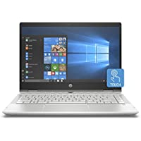 "HP Pavilion x360 14-cd00012nl, PC Convertibile Intel Core i5-8250U, 8 GB di RAM, 256 GB SSD, Display 14"" FHD IPS WLED, Audio B&O PLAY, Argento Minerale"