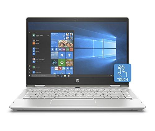 "Foto HP Premium Pavilion x360 14-cd0012nl PC Convertibile Intel Core i5-8250U, 8 GB di RAM, 256 GB SSD, Display 14"" FHD IPS WLED, Argento Minerale"
