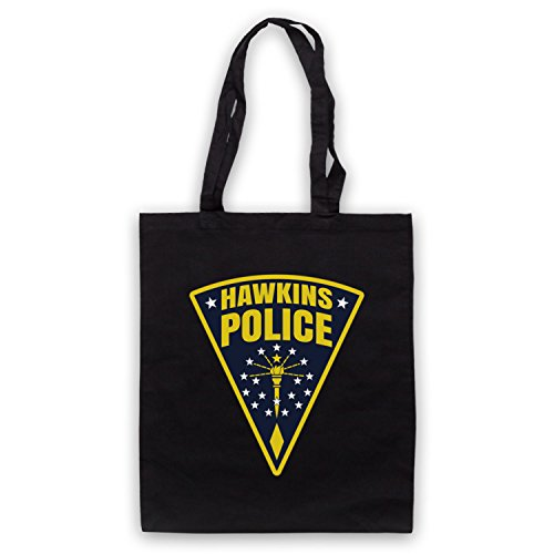 Inspire par Stranger Things Hawkins Police Badge Logo Officieux Sac d'emballage
