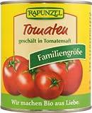 Rapunzel Bio Tomaten, geschält in der Dose, 1er Pack (1 x 800g) - BIO
