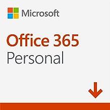 Microsoft Office 365 Personal - Software para PC y Mac, 1 Usuario, Suscripción 1 Año – Descargable