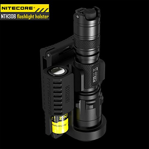 Preisvergleich Produktbild Moppi NiteCore NTH30B 360degree Taschenlampen Pistolenhalfter für P20 P20UV