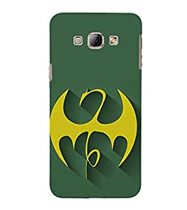 EPICCASE dragon fury Mobile Back Case Cover For Samsung Galaxy A7 (Designer Case)