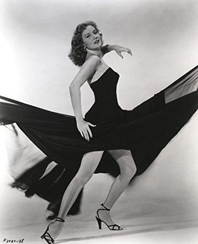 The Poster Corp Rhonda Fleming Wearing a Dress and high Heels Photo Print (60,96 x 76,20 cm) -