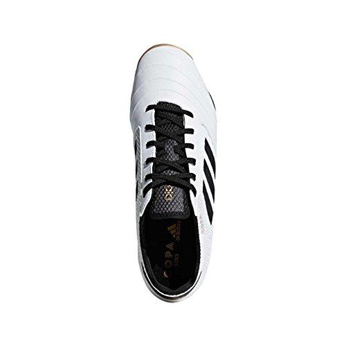 adidas Herren Copa Tango 18.3 Sala Fußballschuhe Weiß (Ftwwht/Cblack/Tagome)