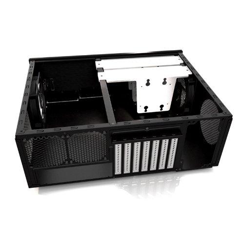 Fractal Design Node 605 - Caja para torre de ordenador, negro