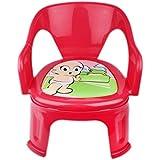 TruGood Plastic Soft Cushion Chair for Kids (Multicolour)
