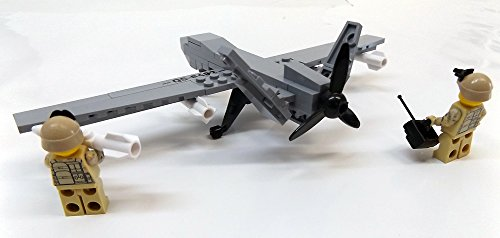 Modbrix 2147- ★ US AIR FORCE Drohne MQ-9 Reaper inkl. custom US ARMY Special Forces Soldaten aus original Lego© Teilen ★ - 5