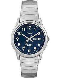 Timex Herren-Armbanduhr Analog edelstahl silber T20031PF